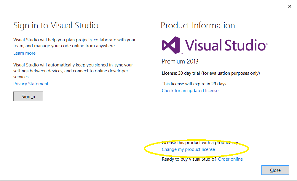 visual studio 2013 ultimate license key free