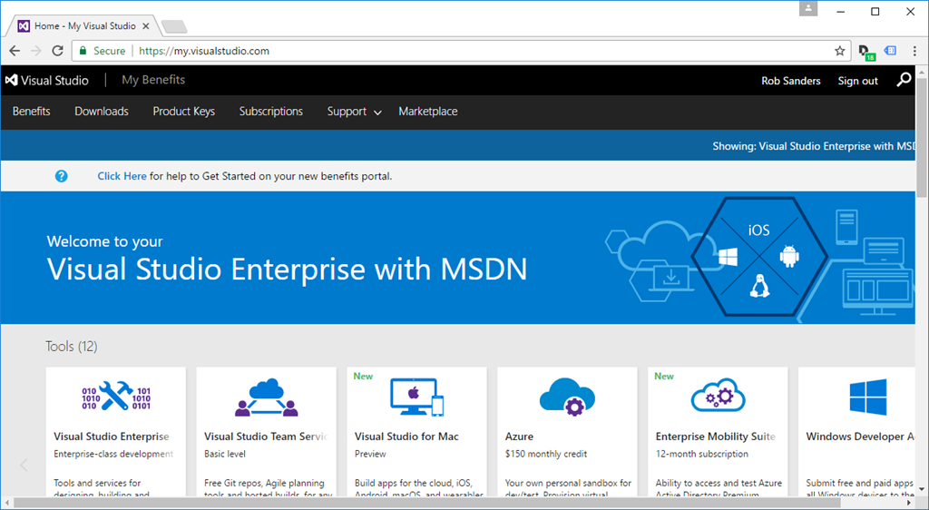 Changes to MSDN Subscriptions – Sanders Technology