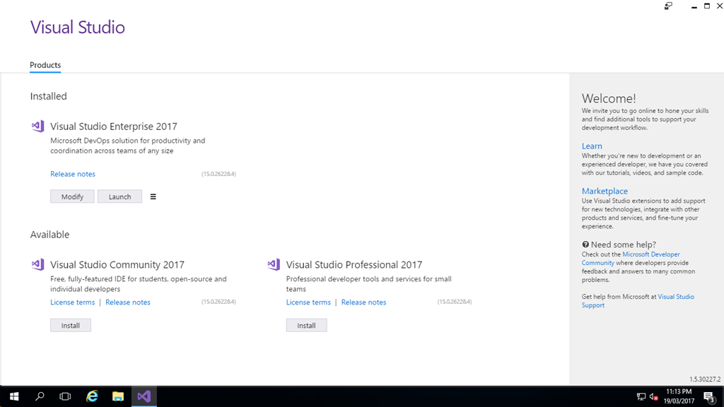 visual studio 2017 static activation key