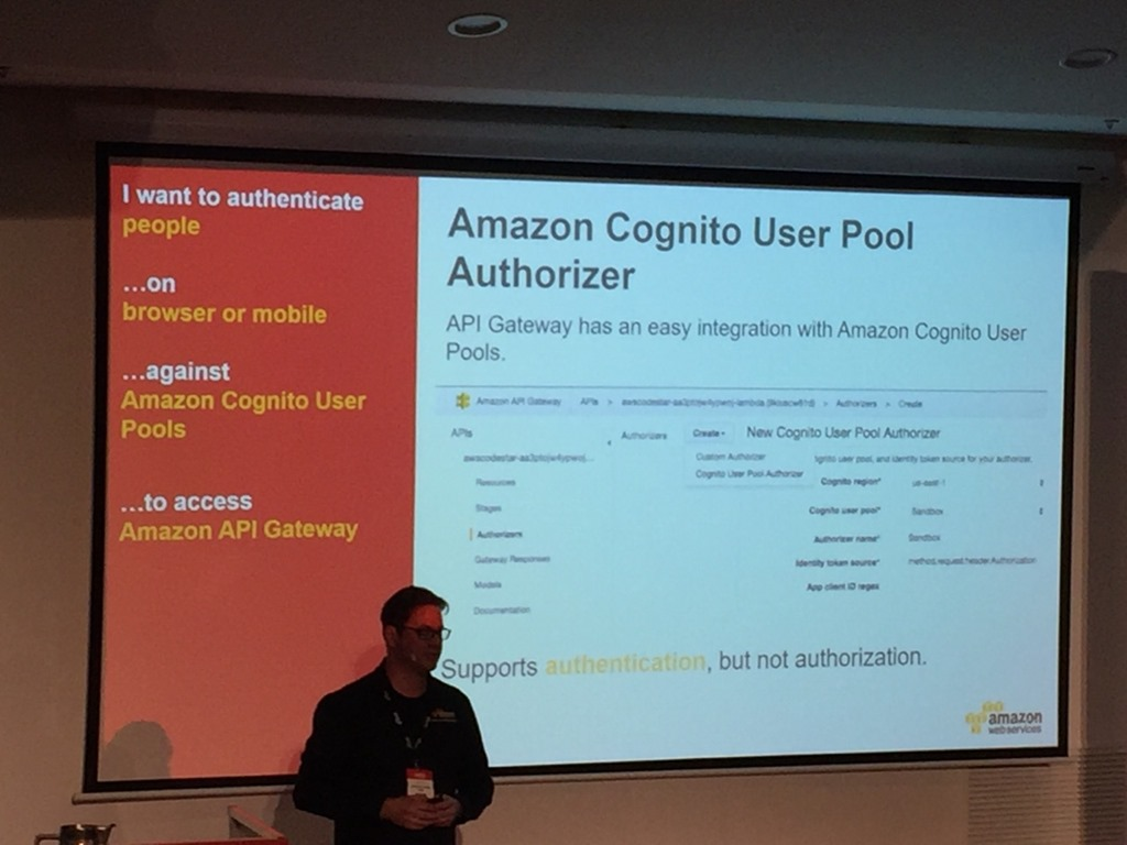 AWS Summit 2017 – Managing Identity and Securing Your Mobile and Web