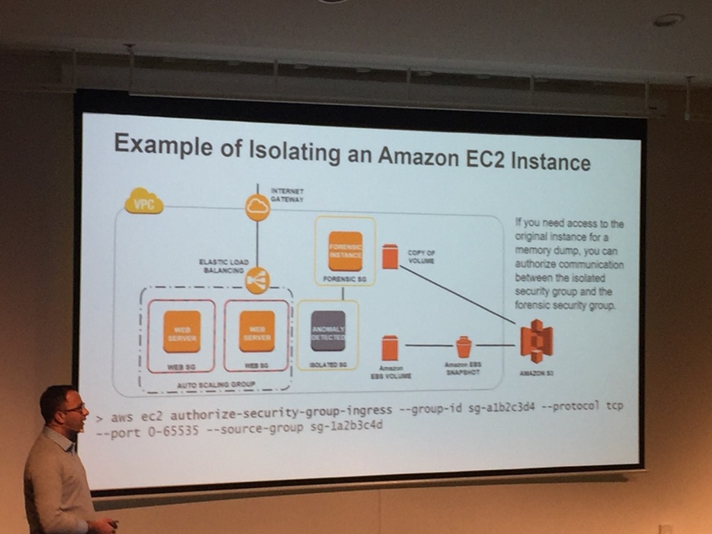 AWS Summit 2017 – Well-Architected for Security: Advanced Session